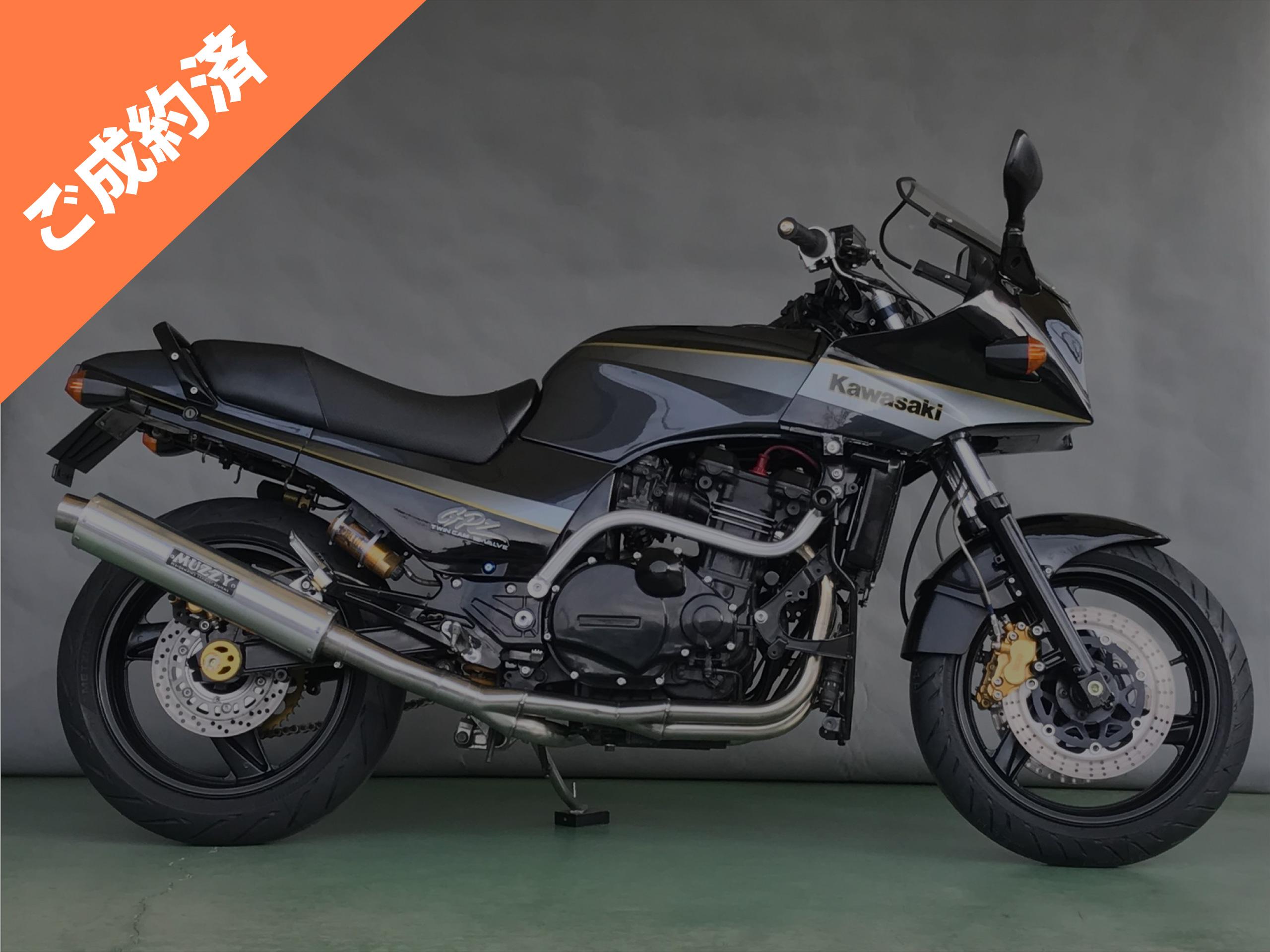 GPZ900R A2車両本体価格:60万円(税別)ご成約済み