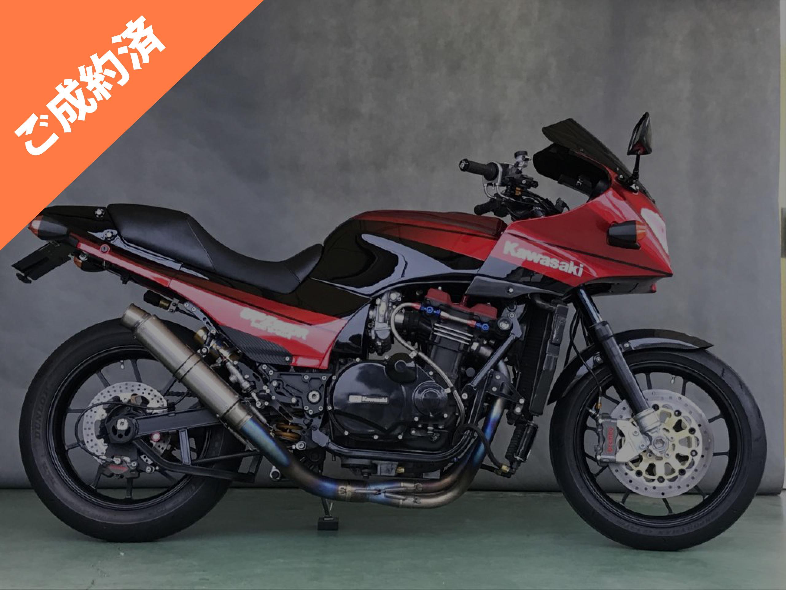 GPZ900R A10車両本体価格:220万円(税別)ご成約済み